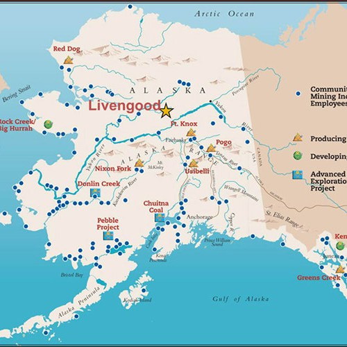Major Mines and Development Projects in Alaska