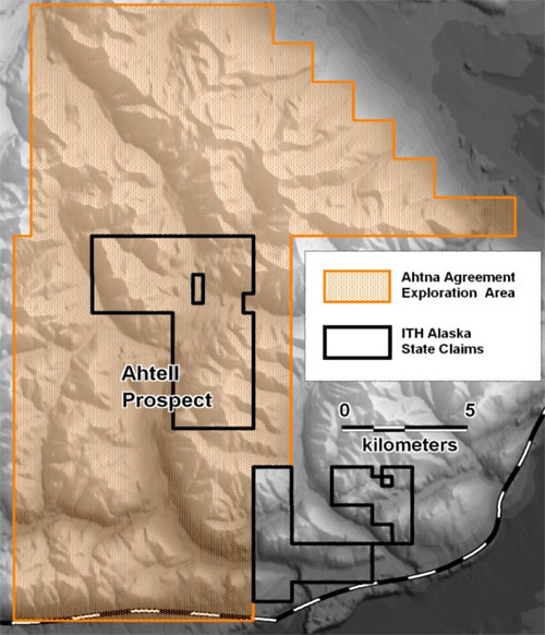 Ahtell exploration area